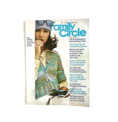 Vintage Family Circle - Knitting Patterns - Crochet - Sewing Supplies - Vintage Advertising - 1973 on Etsy, $6.50