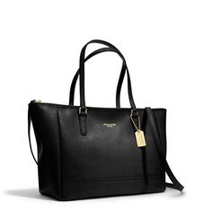 Coach Crossbody City Tote In Saffiano Leather ($258) ❤ liked on Polyvore featuring bags, handbags, tote bags, coach tote, handbags crossbody, handbag tote, man bag and coach purses