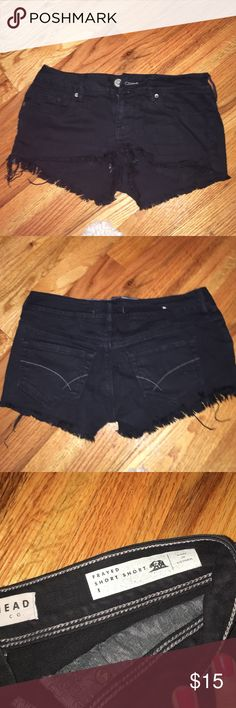 black shorts black shorts from pacsun, size 1, great condition PacSun Shorts Jean Shorts