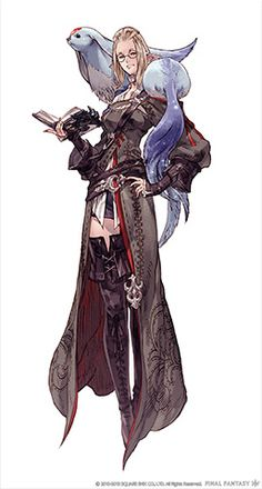 Final Fantasy || CHARACTER DESIGN REFERENCES | Find more at https ...  Final Fantasy 14 Classes Art