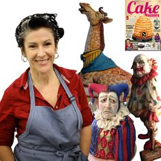 Interview in Cake Masters Magazine: Karen Portaleo http://www.cakemasters.co.uk/product/june-2015-issue/