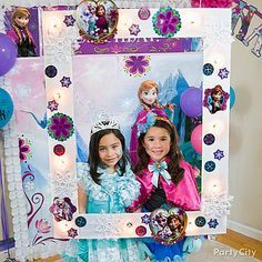 a frozen diy frame picture perfect cut a frame from large white board - Disney Frozen Picture Frames