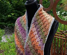 Ravelry: Corner to Corner Scarf pattern by Michael Sellick