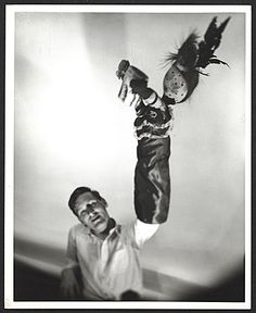 Citation: John Bernard Myers with a puppet on his hand, / Ernst Beadle, photographer. John Bernard Myers papers, Archives of American Art, Smithsonian Institution. Archives Of American Art, His Hands, Vintage Photographs, Puppets, 1940s, History, Concert, York, Cabinet