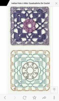 200가지 꽃 모티브 이불만들기 참고 : 네이버 블로그 Crochet Pillow Pattern, Crochet Granny, Free Pattern, Pillows, Knitting, Granny Squares, Crocheting, Farmhouse Rugs, Craft