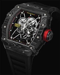 La montre Richard Mille RM 35-01 Rafael Nadal - L incarnation horlogère de  cette force et de cette volonté innées caractéristiques du tennisman 05a93d80c6b
