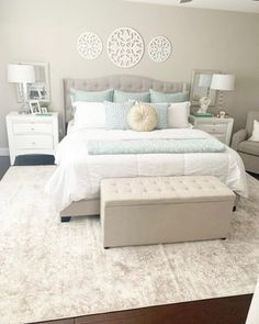 Home Decor Inspiration, Design Inspiration, Chic Bedding, Awesome Bedrooms, Bedroom Decor, Bedroom Ideas, First Home, My Dream Home, Sweet Home