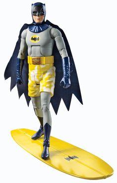 $664.45 Batman Classic TV Series Surfs Up Batman Collector Action Figure: Amazon.com.mx: Juegos y juguetes