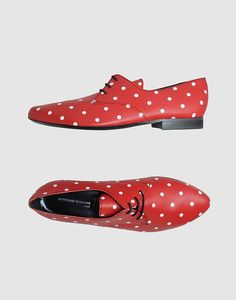 ♥ Red & dot & vintage shoe ♥ Oh my goodness, so cute!