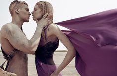 Taurus Woman - Capricorn Man - Make Love Not War - Steven Meisel - http://www.simplysunsigns.com/2013/09/normal-0-false-false-false-en-us-x-none.html