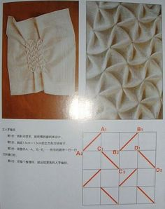 smock patterns for fashion - crafts ideas - crafts for kids
