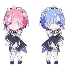 Rem and Ram dancing - http://ift.tt/2cV8llm