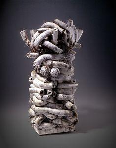 """Sculpture titled """"Cirrus"""" by Annabeth Rosen"""