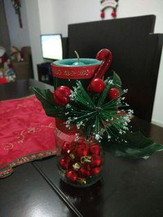 Lindo candelabro para navidad