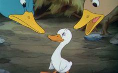 Cartoon Il brutto anatroccolo - Disney [FOTO e VIDEO] #Cinema