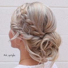 23 Cute Prom Hairstyles for 2019 - Updos, Braids, Half Ups & Down Dos Dutch Braid Tree Braids Hairstyles, Cute Prom Hairstyles, Bun Hairstyles For Long Hair, Braids For Short Hair, Trending Hairstyles, Braided Hairstyles, Short Hair Styles, Best Ombre Hair, Brown Ombre Hair