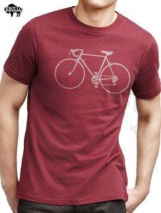 Chemise de vacances cadeau mari cadeau vélo T-shirt Mens par ebollo
