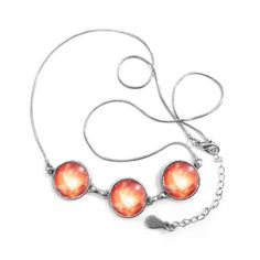 Pink Fantasy Galaxy Storm Beautiful Nebula Illustration Pattern Round Shape Pendant Necklace Jewelry With Chain Decoration Gift #Simple #Pink #Necklace #Fantasy #Chain #GalaxyStorm #Pendants #Beautiful #Jewelry #Nebula #Decoration #Undertale #Charms #Pendulum #Gift #Metal