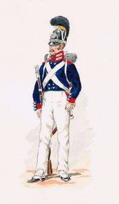 Infanterie du Corps du grand Duc Fusilier 1812