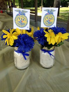 Made these for my FFA banquet and everyone loved them! I made them for under $5!