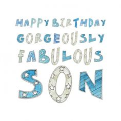 """Mother to Son Birthday Quote 