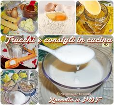 Trucchi e consigli in cucina raccolta in Pdf Kitchen Time, Kitchen Hacks, Thumbprint Cookies, Gnocchi, Biscotti, Home Remedies, Diet Recipes, Raspberry, Food And Drink