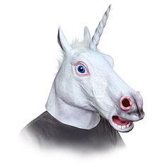 The Unicorn Head Mask