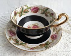 Royal Albert Tea Cup and Saucer Pastella Peach by Oldcutvintage