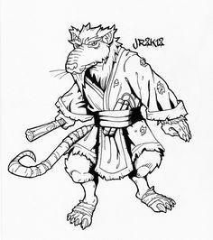 teenage mutant ninja turtles tegninger til farvelægning 10 | ninja turtle coloring pages