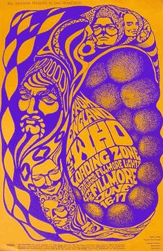 The Who at the Fillmore 1967.  by Bonnie MacLean