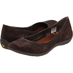 Merrell Avesso, simple ballet flat with a good sole and great color.