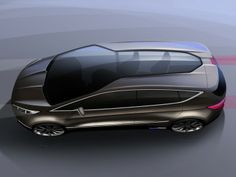 Ford S MAX Concept Design Sketch