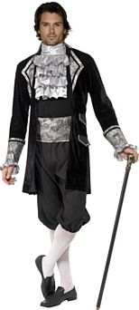 Baroque Vampire Halloween Costume http://www.partypacks.co.uk/baroque-vampire-costume-pid80252.html