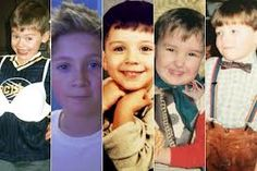 The boys of One Direction when they were little! Their too cute <3 From left to right: Harry, Niall, Zayn, Liam, and Louis! They were cute and they still are!!!