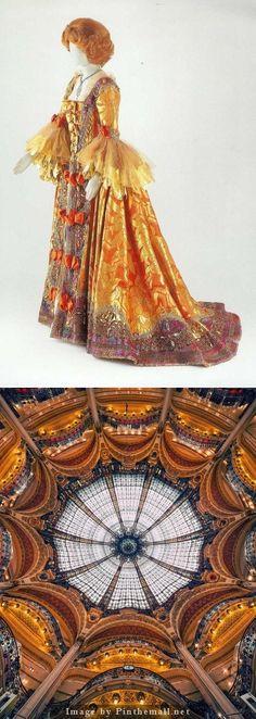 Costume from Puccini's opera Manon Lescaut. Worn by Soprano Renata Tebaldi./Opera Provence - created via http://pinthemall.net