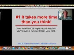 5 Things I Wish I Knew When I Flipped My Class [VIDEO] #flipclass