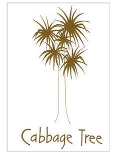 cabbage tree art - Google Search