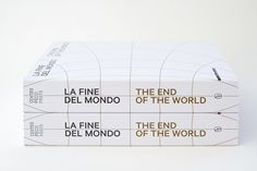 The End of the World — exhibition catalogue on Behance