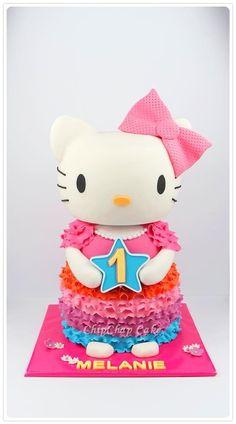 Hello Kitty Cake (from fb: Hannover ChipChap Cake) Hello Kitty Cake, Facebook, Mini, Character, Art, Hello Kitty Cake Design, Art Background, Kunst, Gcse Art