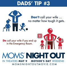 Let's hope your night with the kids doesn't end up in the ER, Dads!