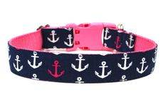 Hey, I found this really awesome Etsy listing at http://www.etsy.com/listing/152923363/nautical-dog-collar-1-anchor-dog-collar