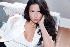 Old but New: Adriana Lima promoting VS Intense, September 7, 2016