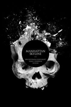 Fredrik Melby Manhattan Skyline Oya Festival Flyer
