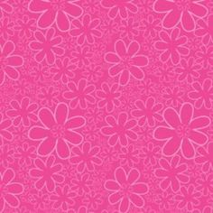 Camelot Cottons House Designer - Baby Dino - Flowers in Bright Pink Textile Patterns, Sewing Patterns, Cotton House, Baby Dino, Graphic Design Tips, Art Clipart, Paint Shop, Modern Fabric, Couture