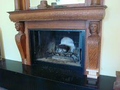 Fireplace feet?
