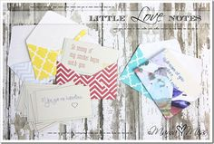10 Little Love Notes - printable