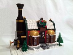 Explore mouseketeer111 photos on Flickr. mouseketeer111 has uploaded 75 photos to Flickr. Very Merry Christmas, Christmas Holidays, Christmas Ideas, Lego Christmas Train, Lego Gingerbread House, Lego Winter Village, Lego For Kids, Cool Lego Creations, Lego House