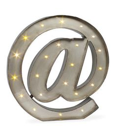 Another great find on #zulily! Lighted 'At' Sign #zulilyfinds