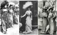 Turn of the century fashion: The splendorous trend styles of the Edwardian era