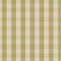 Vervain Biron Check Soft Gold Fabric